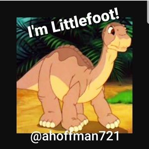 I'm Little Foot today 5/6